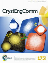 (Journal cover, CrystEngComm) Volume 18 Issue 19 (2016)
