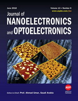 (Journal cover, Journal of Nanoelectronics and Optoelectronics) Volume 13 Issue 6 (2018)