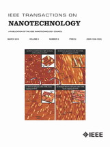 (Journal cover, IEEE Transactions on Nanotechnology) Volume 9 Issue 2 (2010)
